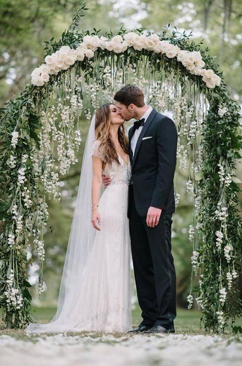 10 poses de fotografía de boda