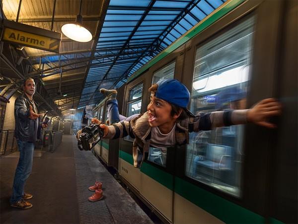 Fotógrafos que gobiernan la fotografía creativa para niños