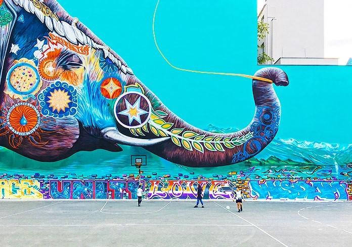 Increibles fotografias del arte urbano