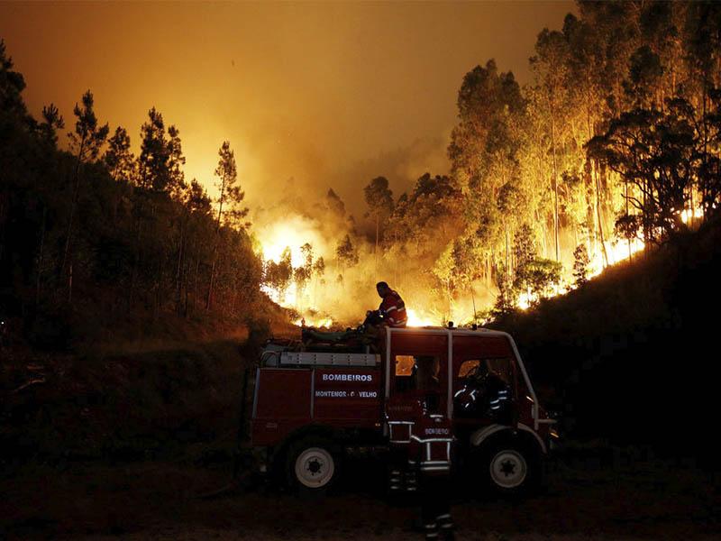 Impactantes fotografías de desastres naturales
