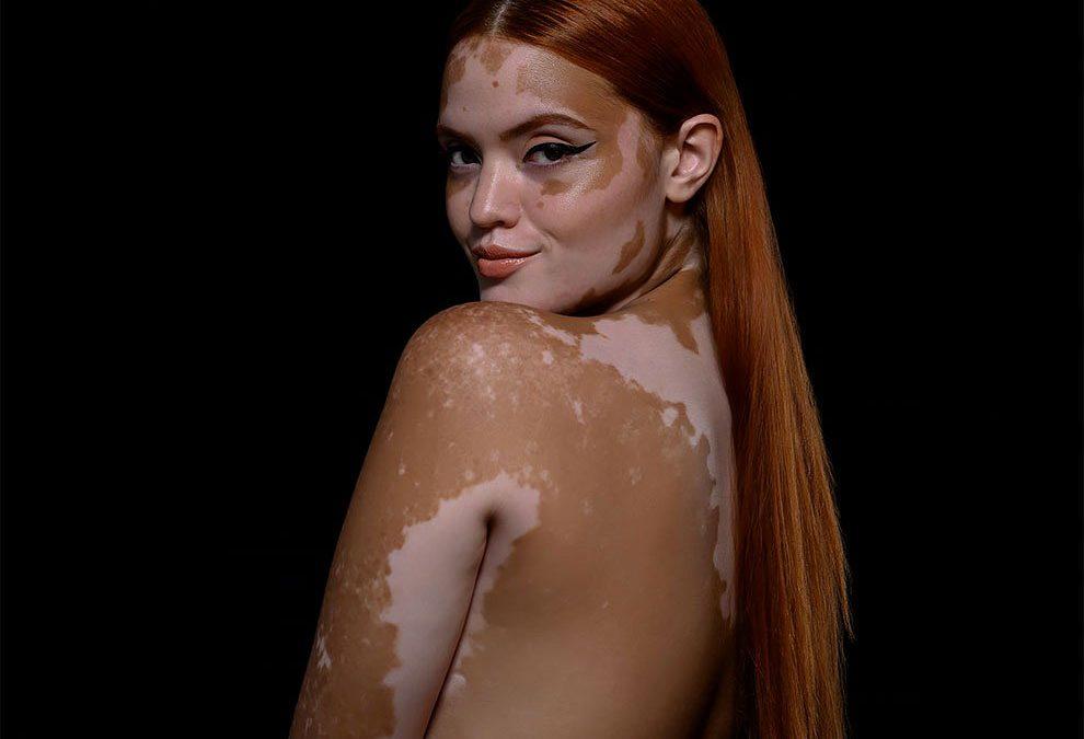 Fotografía de la belleza inusual del cuerpo humano