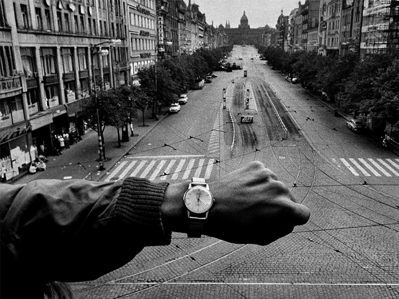 Fotógrafo Josef Koudelka: los gitanos los exiliados y la guerra.