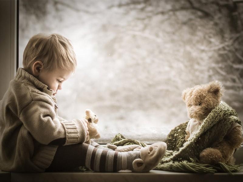 Encantadores retratos de los hijos de la fotógrafa Iwona Podlasińska