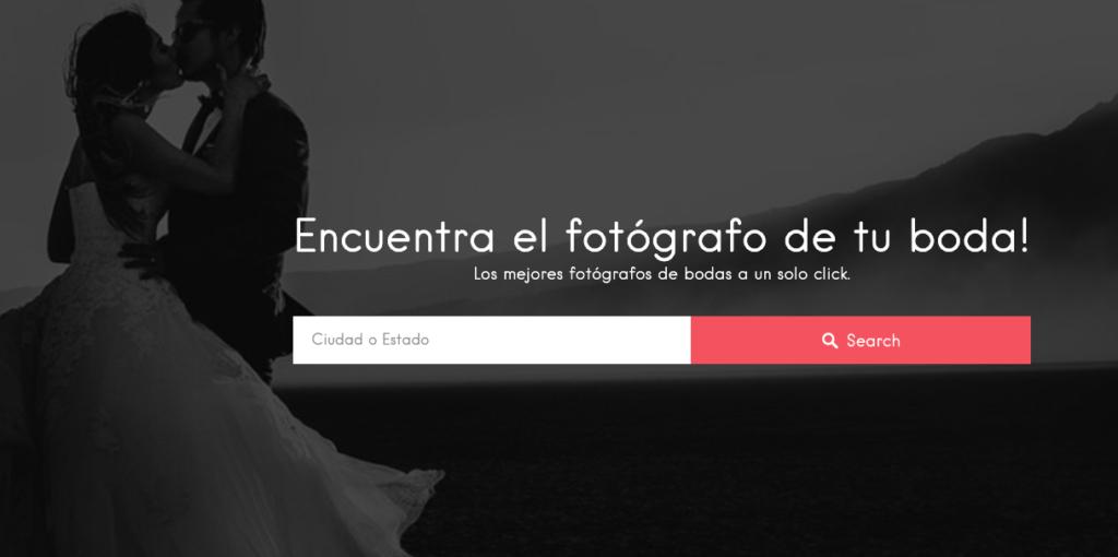 Directorio de fotógrafos de bodas