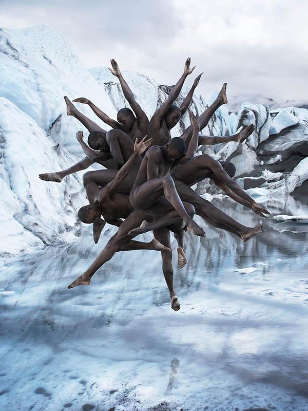 Fotografías surrealistas de bailarines