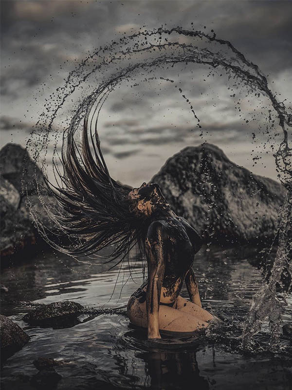 Fotografías de retrato que captura la belleza del mar