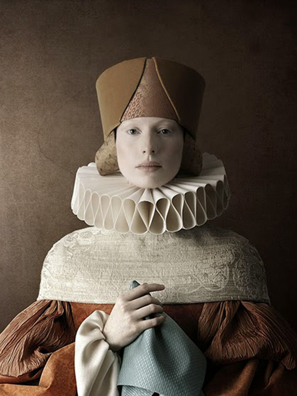Los Retratos renacentistas del fotógrafo Christian Tagliavini