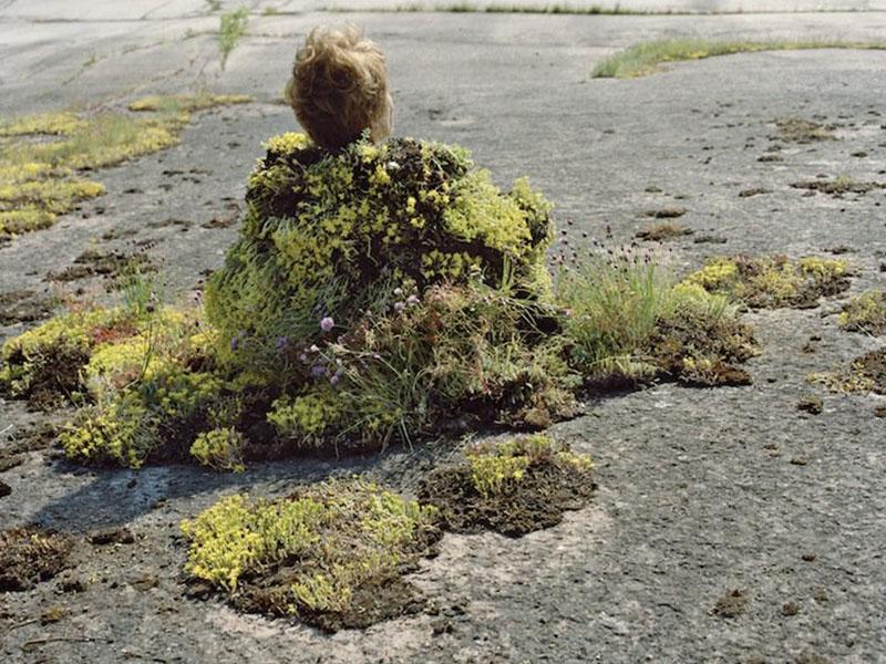 Fotografía de criaturas míticas que personifican a la naturaleza