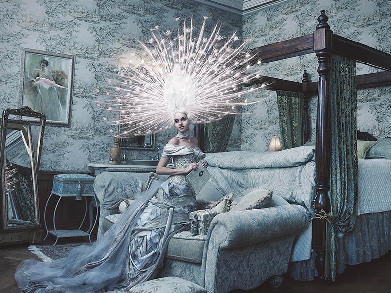 fotógrafa de moda surrealista