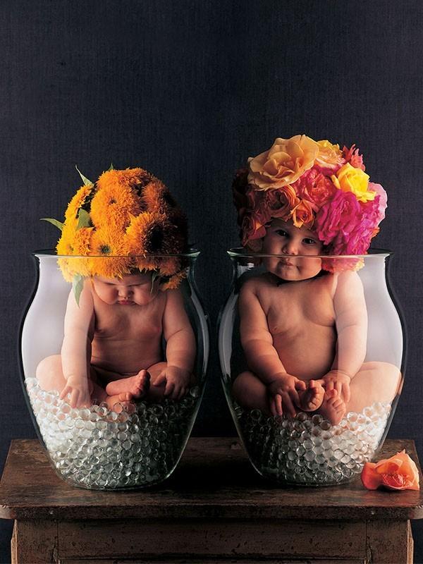 Anne Geddes, la fotógrafa de niños más famosa del mundo