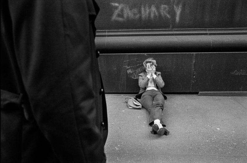 La fotografía mas cruda y espontanea de Bruce Golden