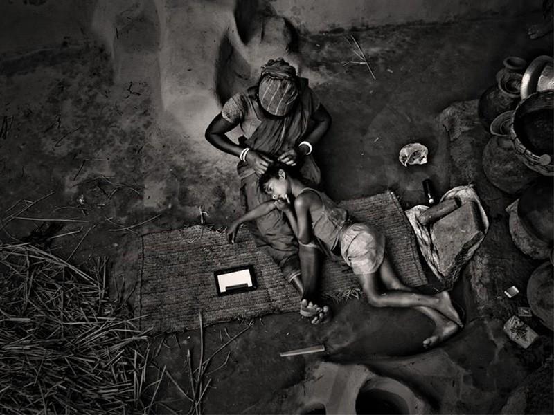 Cuando el color sobra; gran fotógrafo blanco y negro Munem Wasif.
