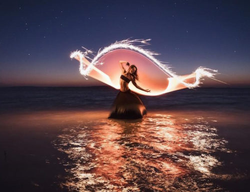 Increíbles retratos de pintura con luz alrededor del mundo por Eric Paré