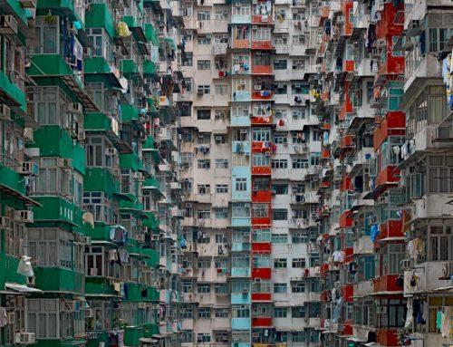 Fotógrafo Alemán  Michael Wolf que capta como es vivir en Hong Kong.