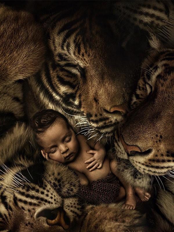 Fantasía y realismo a través de la fotografía de Marcel Van Luit