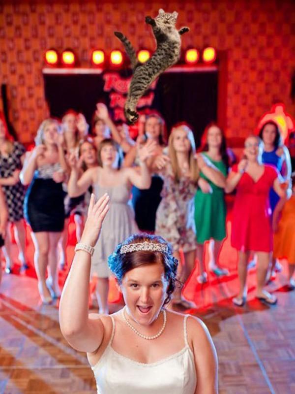 Horribles y divertidas fotografías de bodas