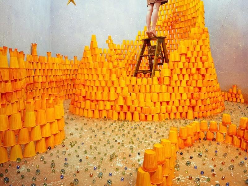 Autorretratos surrealista de jee Young leeninguna sin manipulación digital