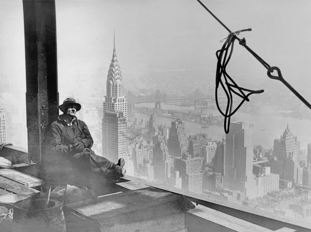 Sorprendentes fotografías de la construcción del Empire State Building