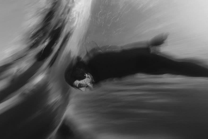 Las extrañas capturas en blanco y negro que realiza Trent Mitchell